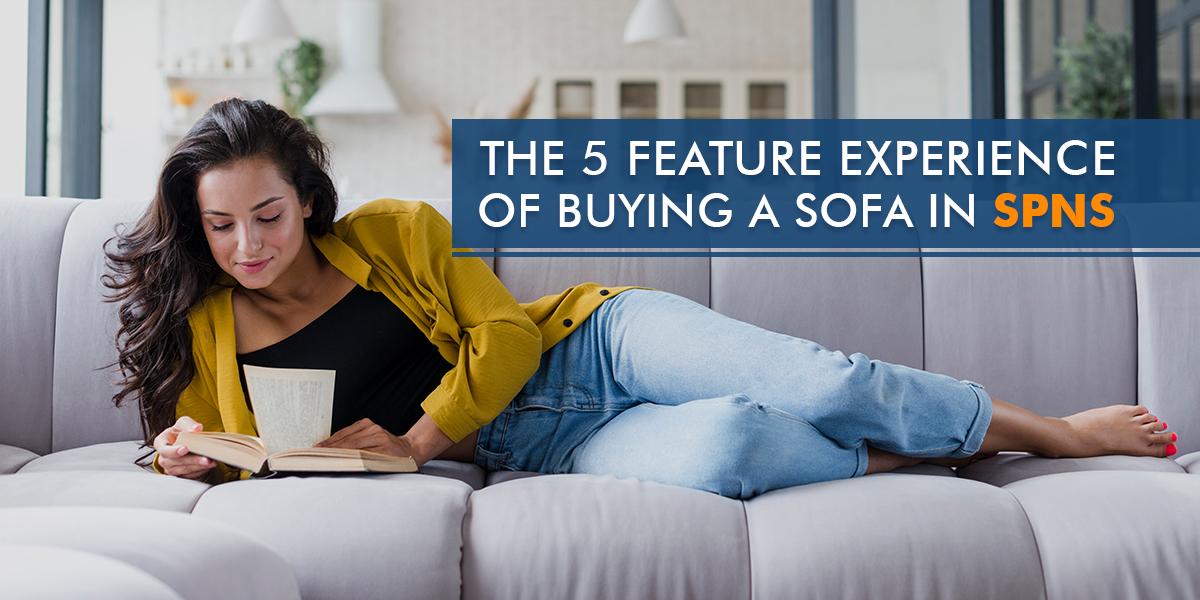 The 5 Feature Experience of buying a sofa in Spns