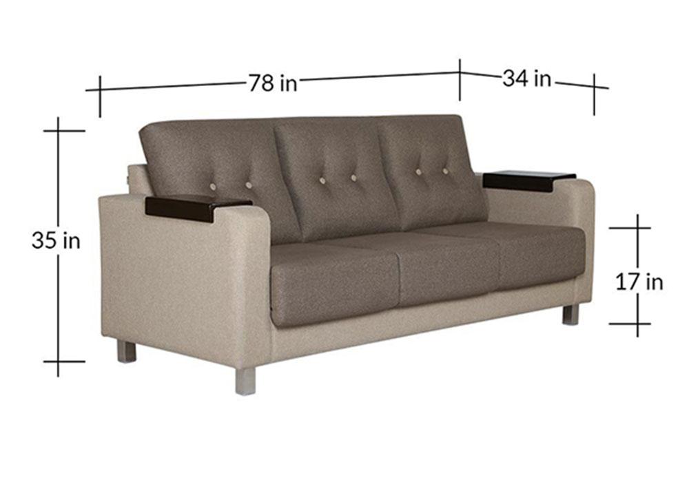 Boston Three Seater Sofa set- spns Furniture
