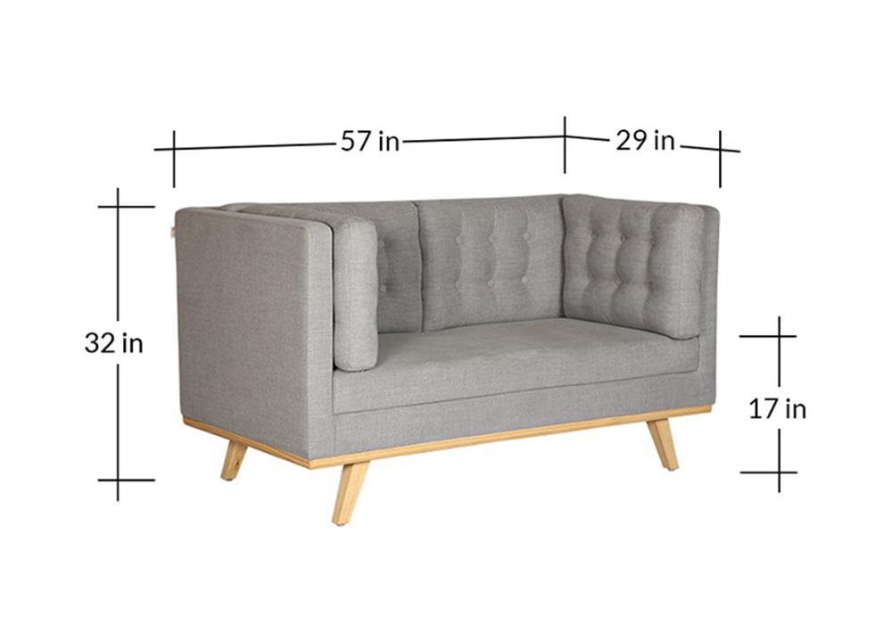 Entawak-Gray-Colour-Two-seater-sofa-set-spns-Furniture