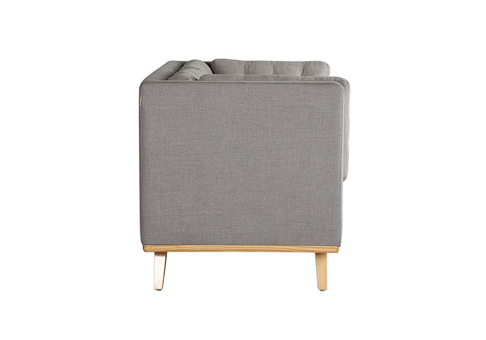 Entawak-Gray-Colour-Two-seater-sofa-side-view-Spns-Furniture