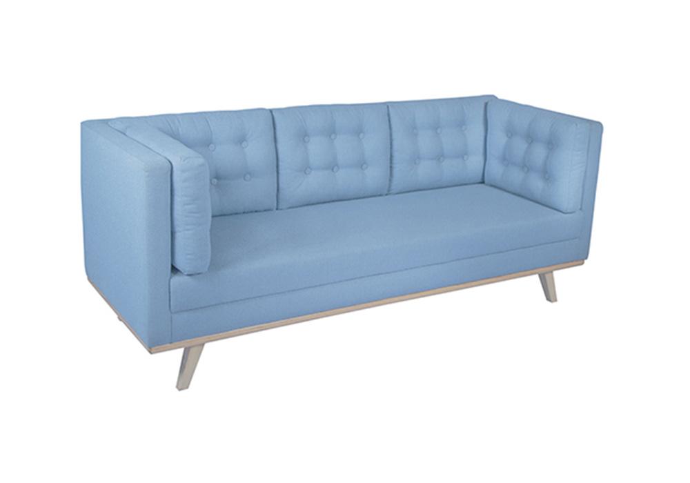 Entawak Sky Blue Colour Sofa