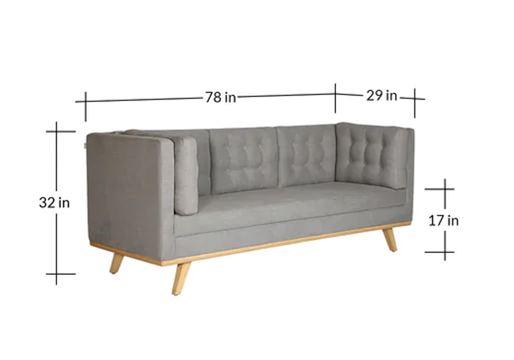 Entawak-gray-color-Three-Seater-Sofa-dimension-SPNS-Furniture