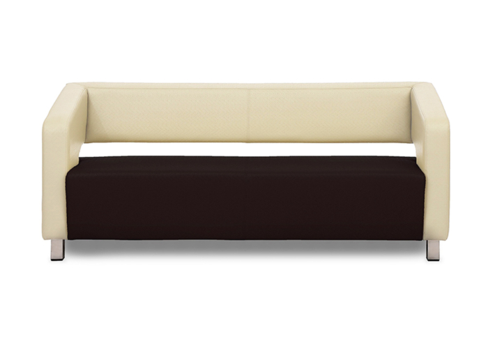 Float Cream & Brown Colour Sofa
