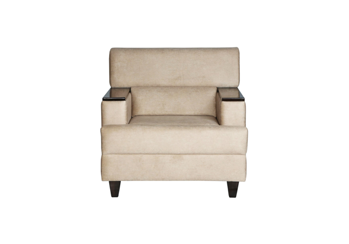 Larch single Seater Sofa by SPNS Furniture