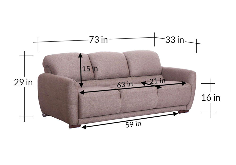 Marino-Three-Seater-Sofa-diamensions-Light-Brown-colour-by-SPNS