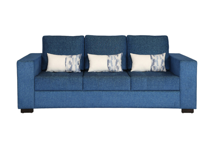 ND1-Three-Seater-Sofa-Blue-in-colour-with-Cusions-by-SPNS