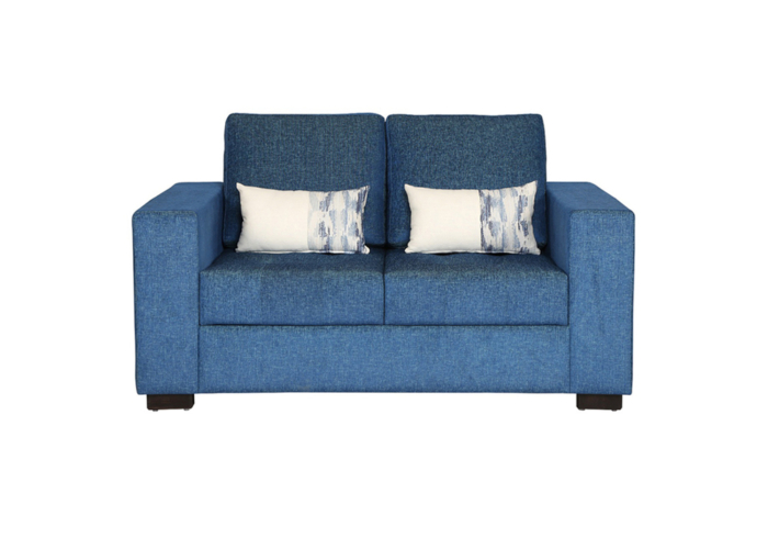 ND1-Two-Seaters-Sofa-Blue-in-colour-with-Cusion-by-SPNS