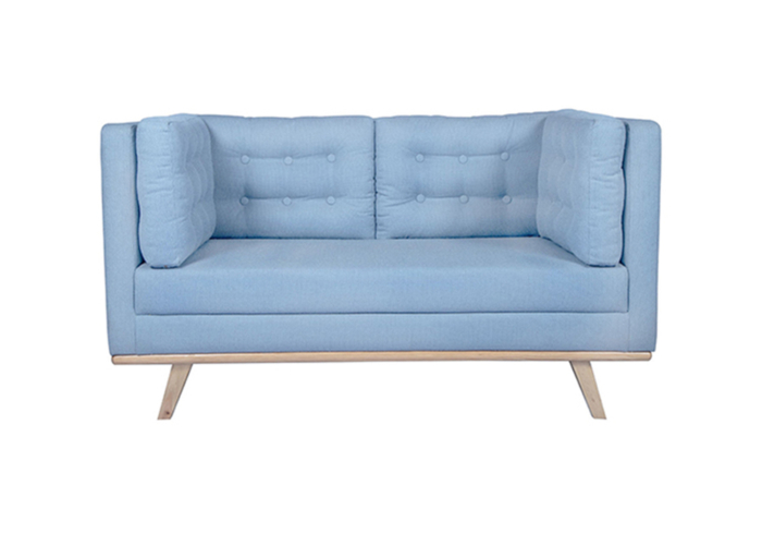 Entawak Sky Blue Colour Sofa