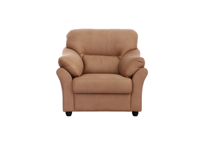 Bangkok Single Seater Brown colour Sofa by Spns