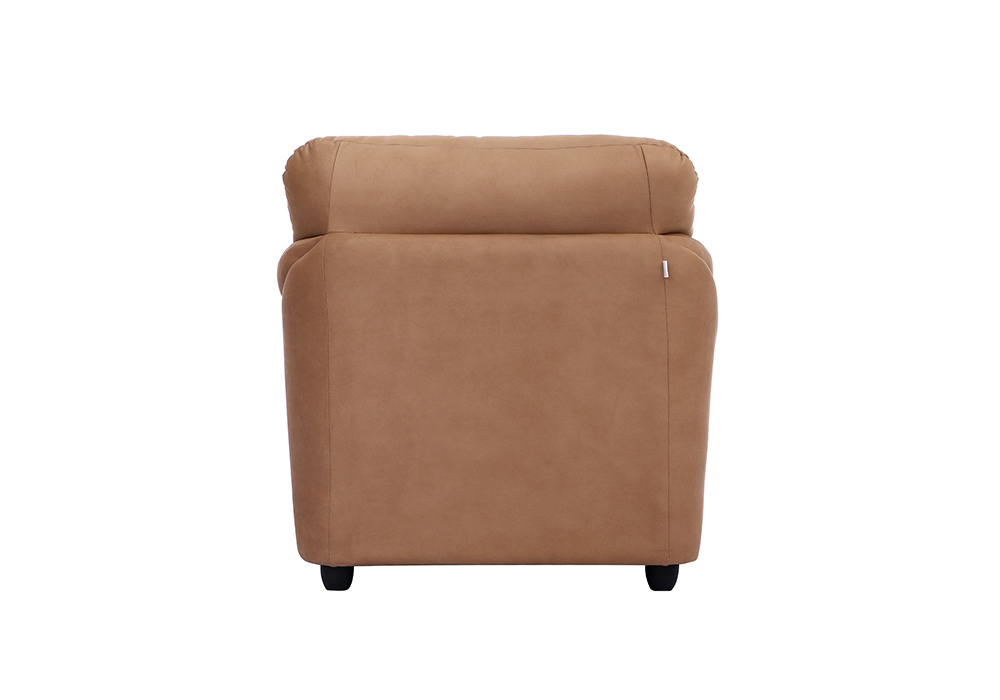 Bangkok single Seater Brown colour Sofa by Spns (back view)