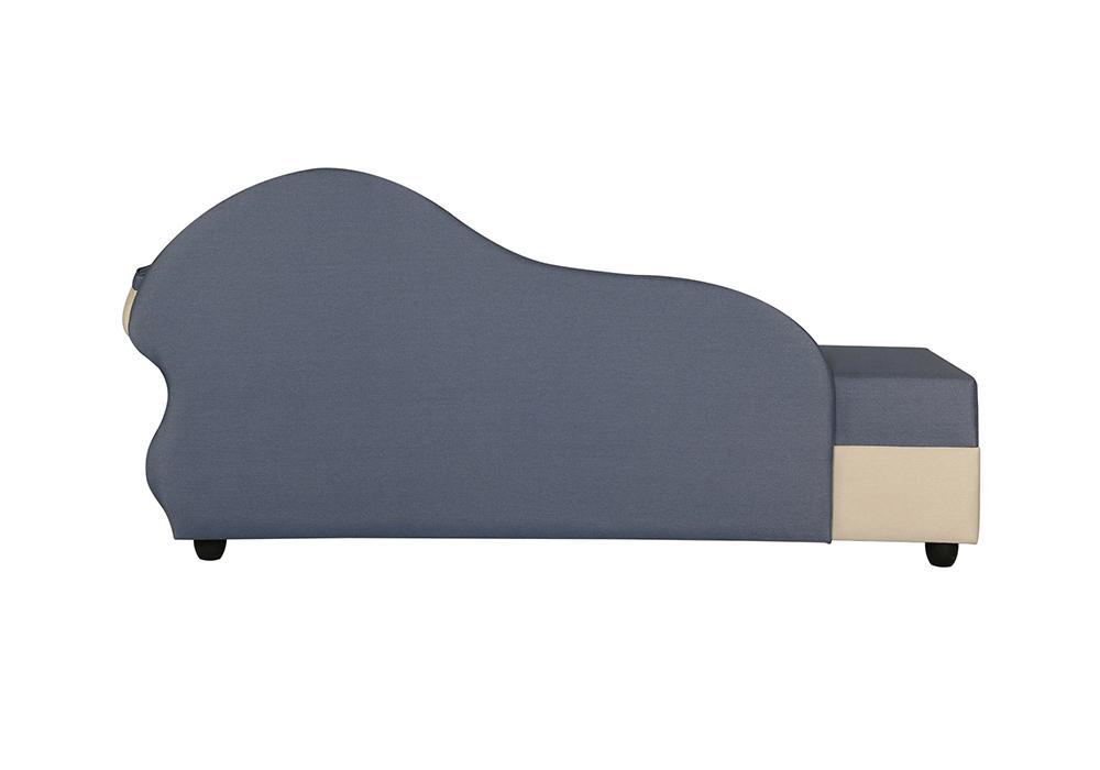Cindrella - Gray Colour Sofa back side