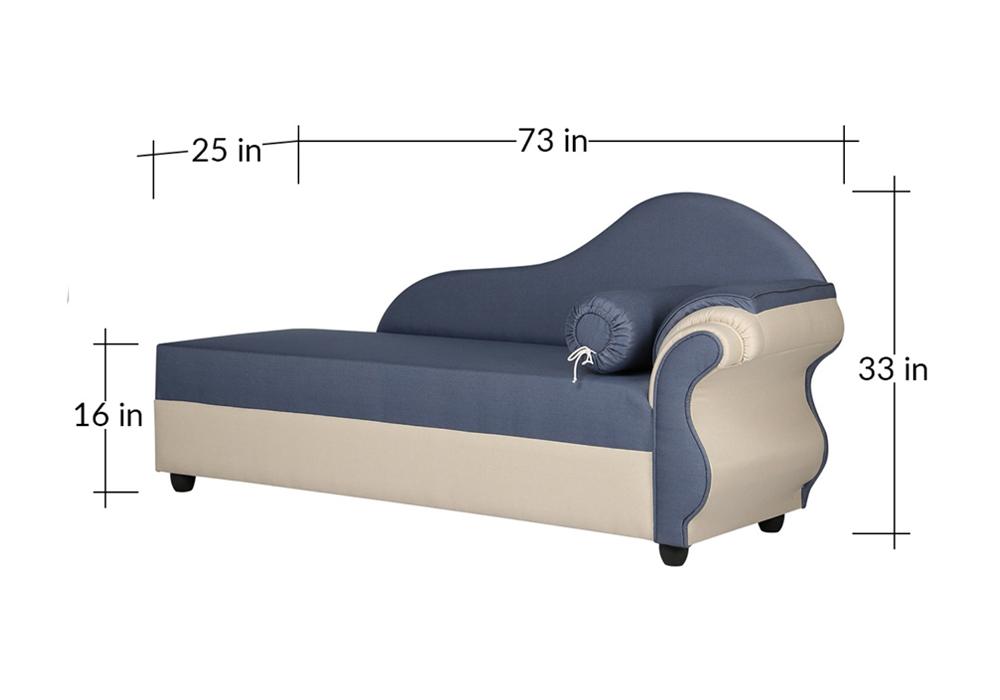 Cindrella - Gray Colour Sofa dimension