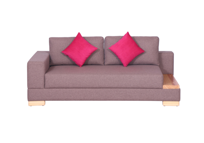 Corner(nd12) RHS 2 Seater Sofa by Spns (side view)
