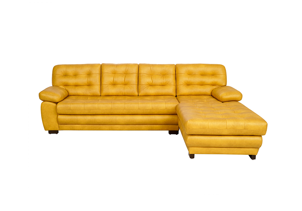 Cosmos Lounger Sofa in Mustard Yellow Colour- by spns furniture