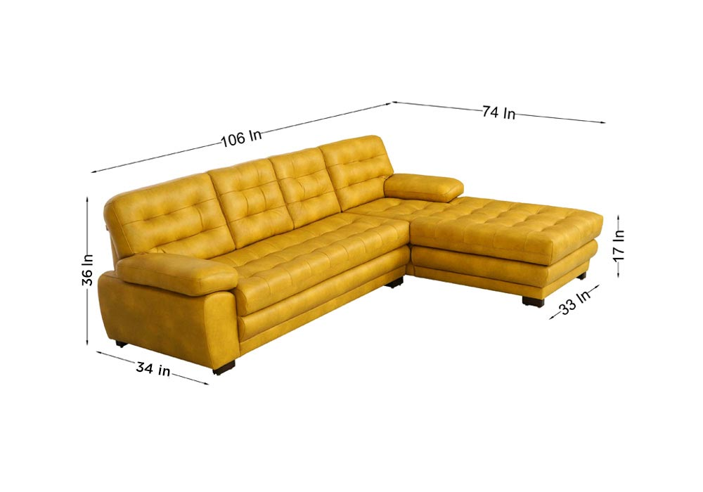 Cosmos-Lounger-Sofa-in-Mustard-Yellow-Colour-dimensions