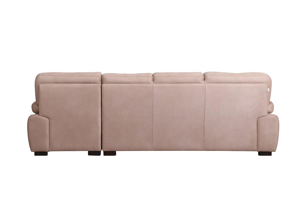 Cosmos Lounjer LHS Sofa pearl color-backview