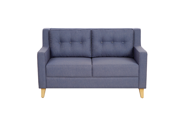Diego 2 Seater Sofa in Denim Blue Colour by Spns