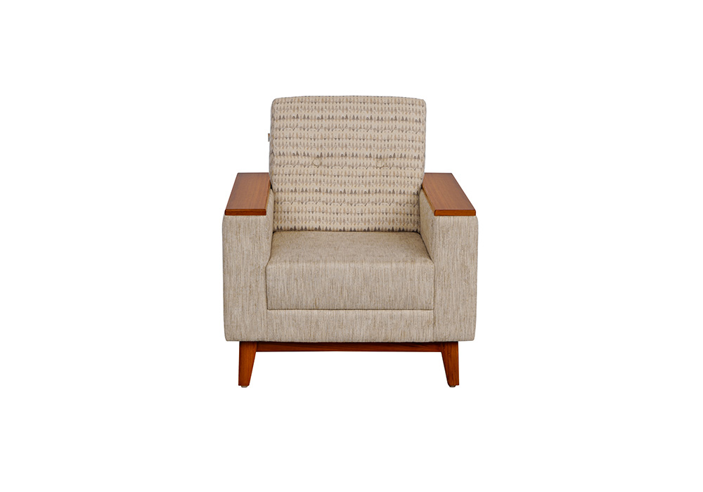 Marigold 1 Seater Sofa in Cream Colour by SPNs
