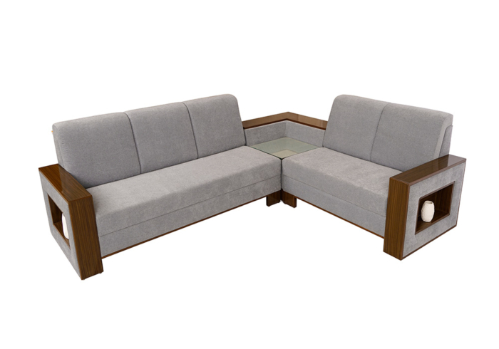 Morning Glory Sectional Sofa Set without Cussions by Spns