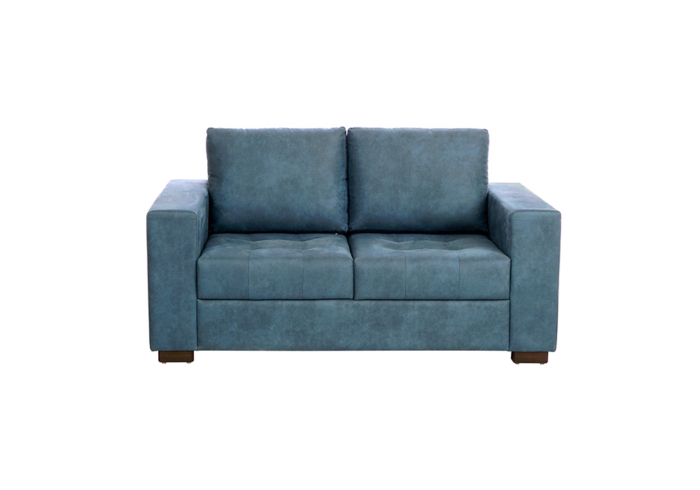 ND1 2 Seater Blue Colour Sofa by SPNS