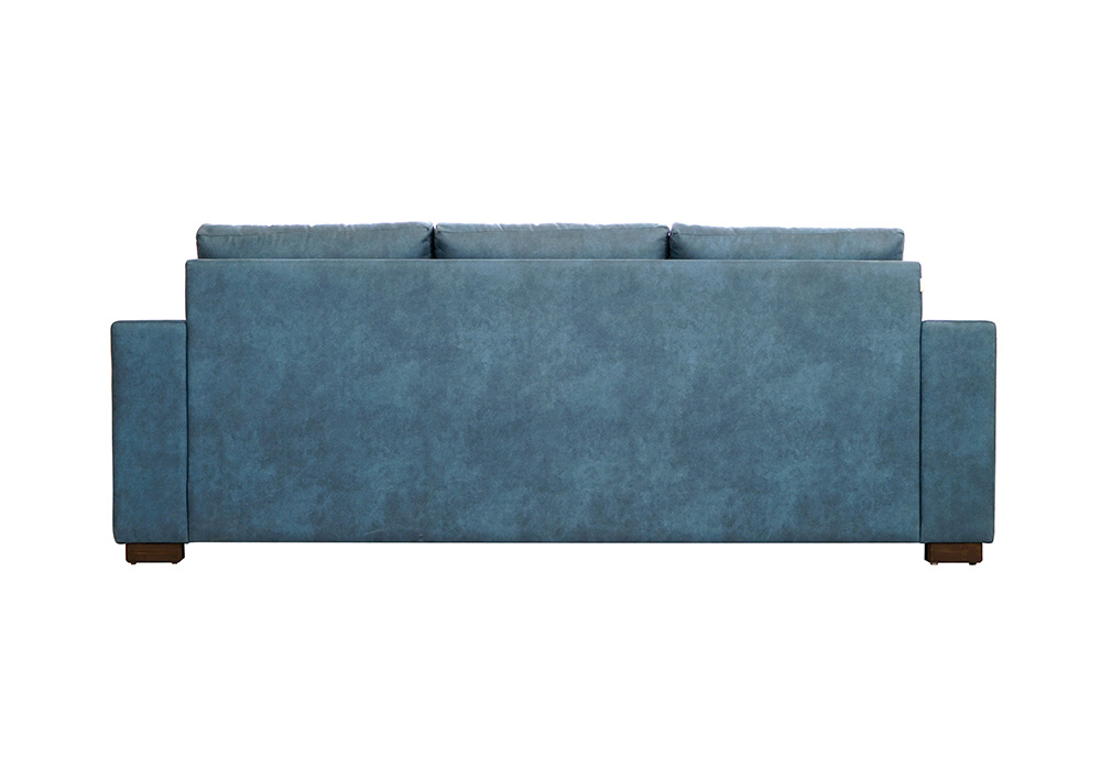 ND1 3 Seater Blue Colour Sofa by SPNS (back view)