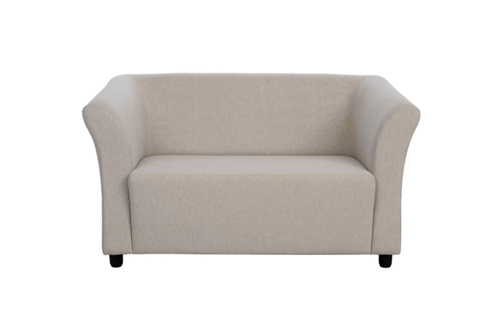 Paris two seater gray colour sofa by spns (without cusion)