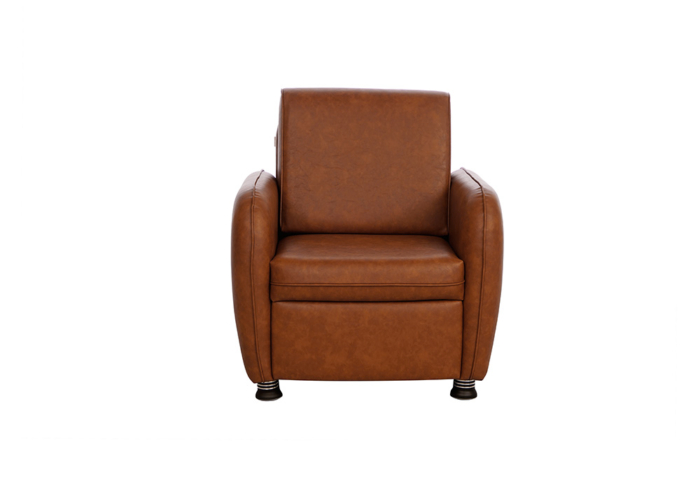 Saffron single seater coffee colour sofa by spns