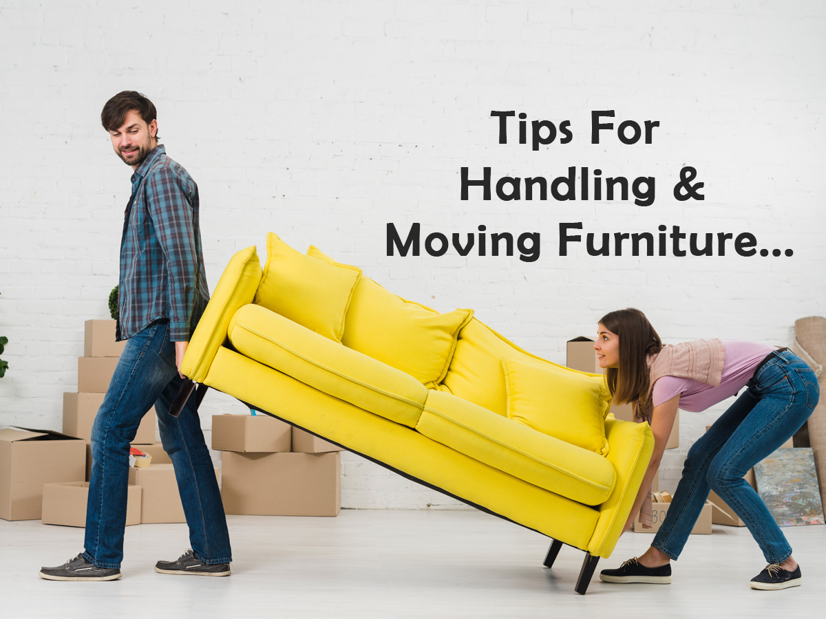 Tips For Handling And Moving Furniture