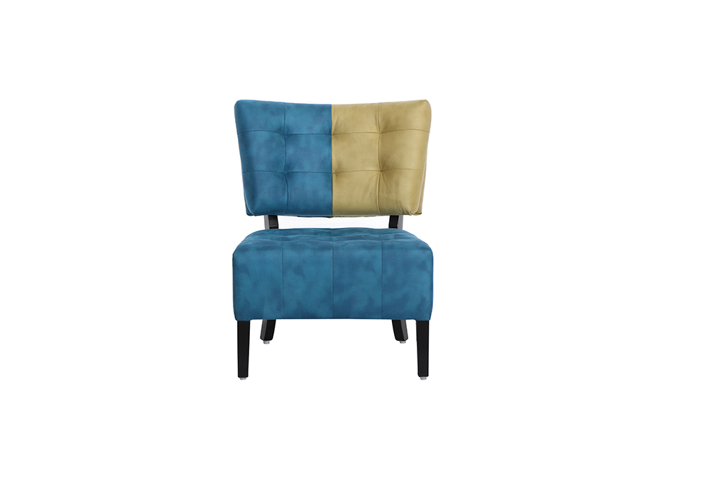 Tuck Chair in cream and blue color by spns
