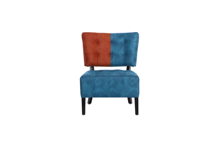 Tuck Chair in red and blue color by spns