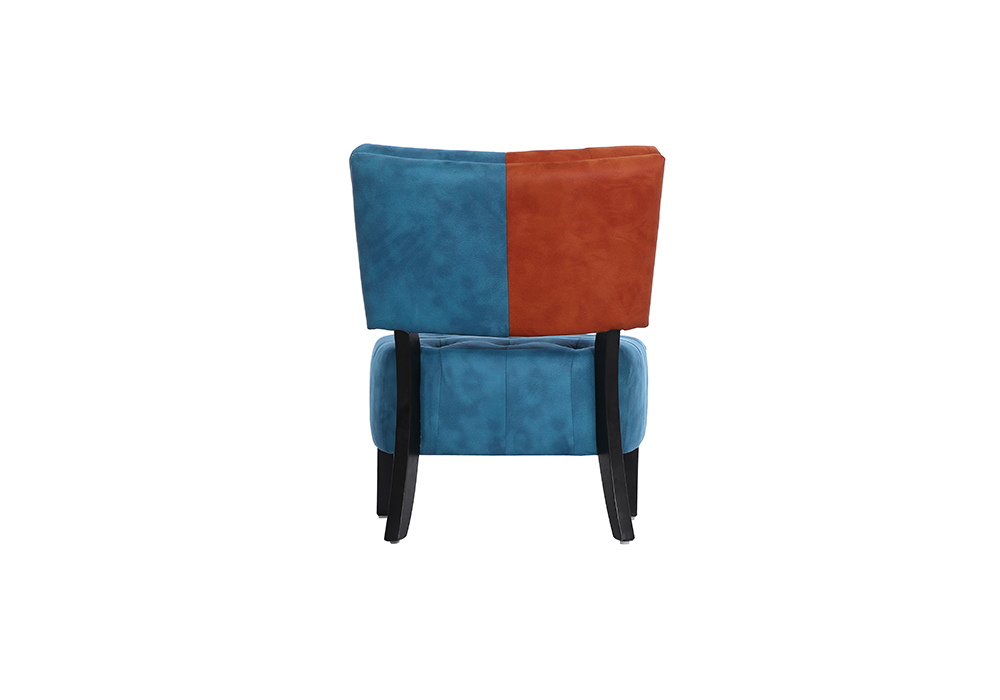 Tuck Chair in red and blue color by spns(back view)