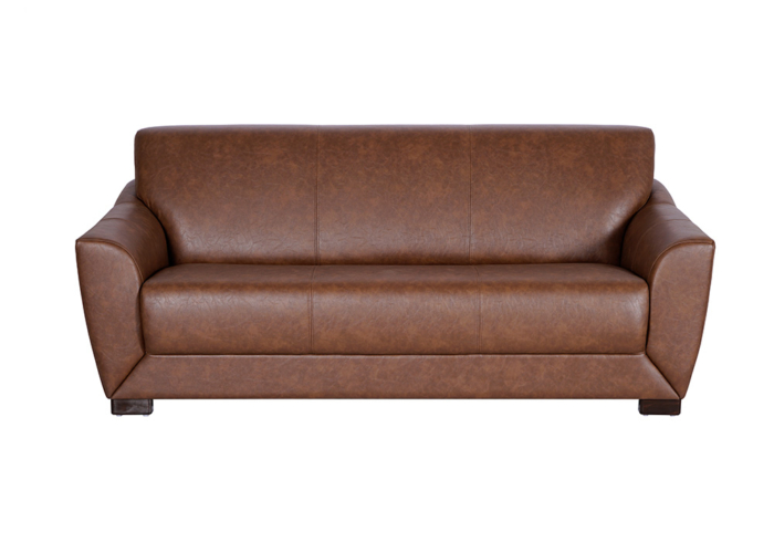 Woodarth Tulip Three Seater Chocolate colour Sofa