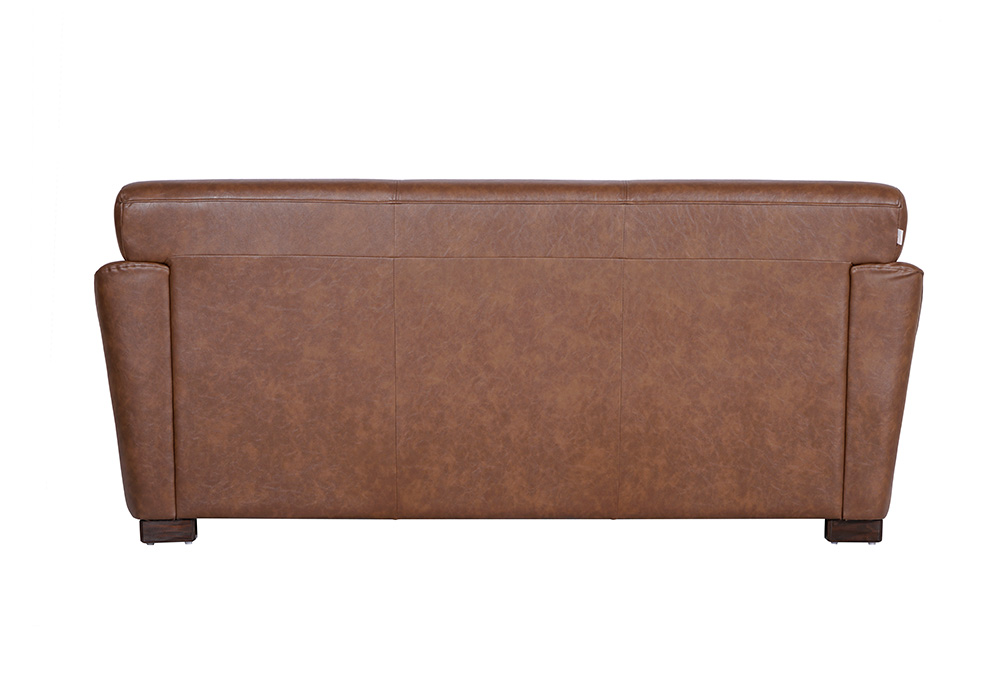 Woodarth Tulip Three Seater Chocolate colour Sofa (back view)