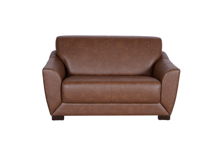 Woodarth Tulip Two Seater Chocolate colour Sofa