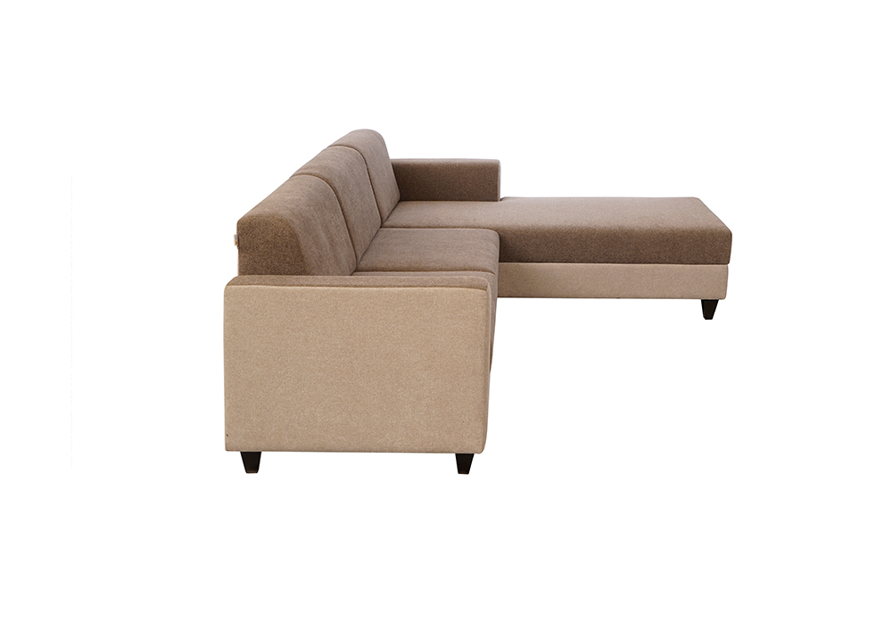 everlast rhs sofa lounjer gray colour by spns (left side view)