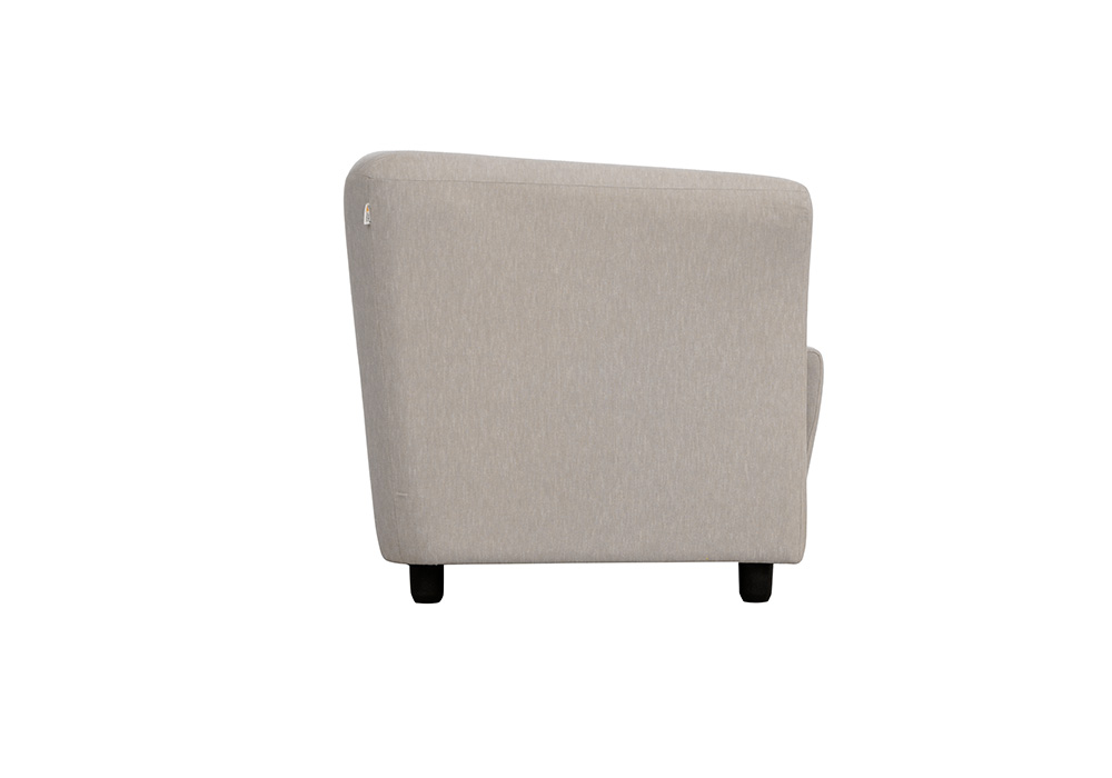 paris-single-seater sofa without cusions-side view