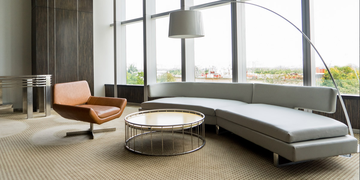 How to choose a designer sofa- that promotes the image of your office